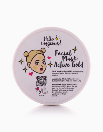 Active Gold Facial Mask by Hello Gorgeous