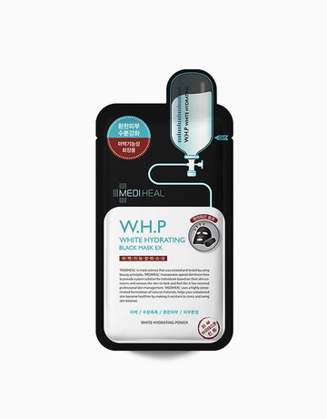 W.H.P White Hydrating Charcoal Mask EX by Mediheal