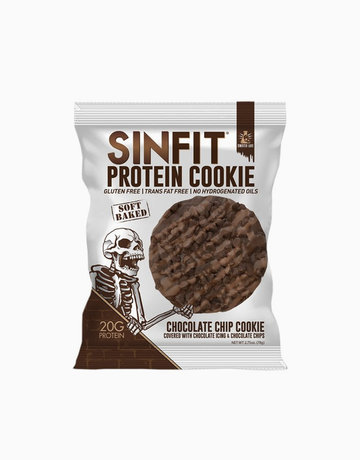 Chocolate Chip Protein Cookie (78g) by Sinfit