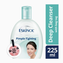 Eskinol Pimple-Fighting Deep Cleanser With Bag Tag (225ml) by Eskinol
