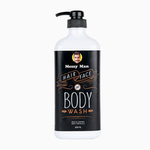Messy Man Hair Face Body Wash (500ml) by Messy Bessy
