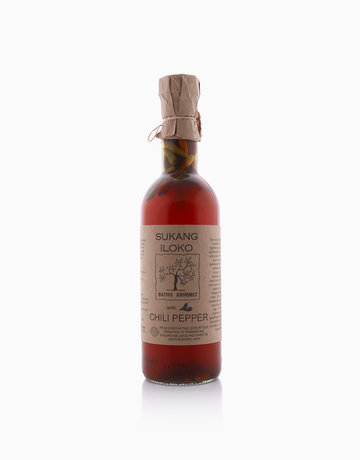 Organic Vinegar Sukang Iloko Original With Chili Pepper (500ml) by Native Gourmet