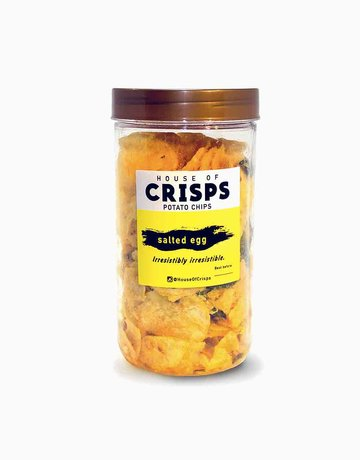 House of Crisps Salted Egg Tub (260g) by House of Crisps