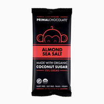 Almond Sea Salt Chocolate Bar  by Eating Evolved
