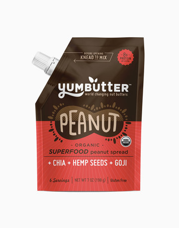 Organic Peanut Butter by Yumbutter