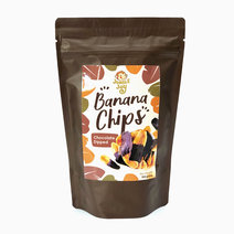 Chocolate-Dipped Banana Chips by Jungle Joy