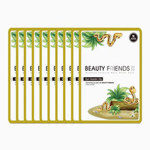 Beauty friends mask sheet syn ake 10pcs