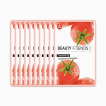 Tomato Mask Sheet Pack (10 Pcs.) by BEAUTYFRIENDS II