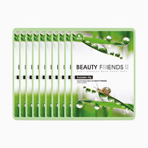 Beauty friends mask sheet snail 10pcs