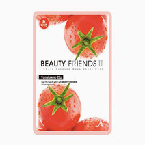 Beauty friends mask sheet tomato