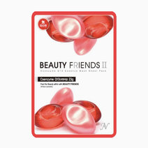 Coenzyme Q10 Mask Sheet by BEAUTYFRIENDS II