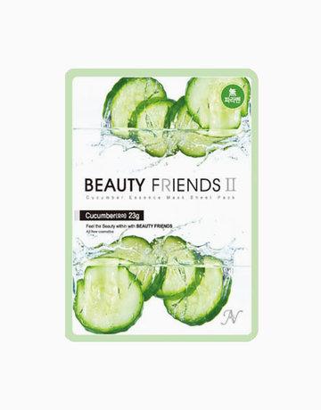 Cucumber Mask Sheet by BEAUTYFRIENDS II
