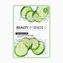 Cucumber Mask Sheet by BEAUTYFRIENDS II