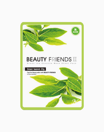 Green Tea Mask Sheet by BEAUTYFRIENDS II
