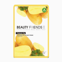 Beauty friends mask sheet potato