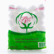Cotton Balls (50 Balls) by Tender Soft in
