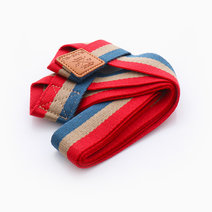 Stripes Yoga Mat Sling by Feet and Right