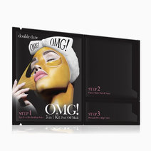 Doubledarespa omg! 3in1 kit peel off mask