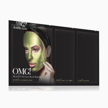 Doubledarespa omg! platinum green facial mask kit
