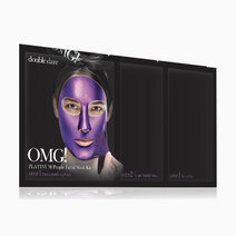 Doubledarespa omg! platinum purple facial mask kit