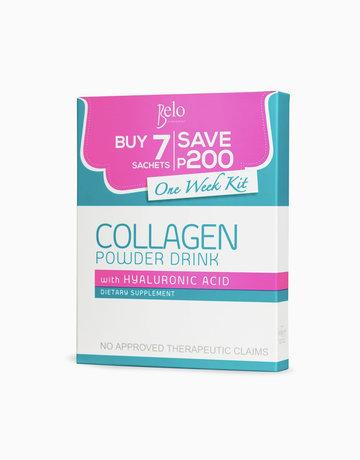 Belo Nutraceuticals Collagen Powder 1-Week Kit by Belo