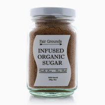 Vanilla Bean & Rose Buds Infused Organic Sugar by Fair Grounds