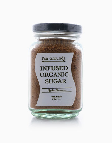 Ceylon Cinnamon Infused Organic Sugar  by Fair Grounds