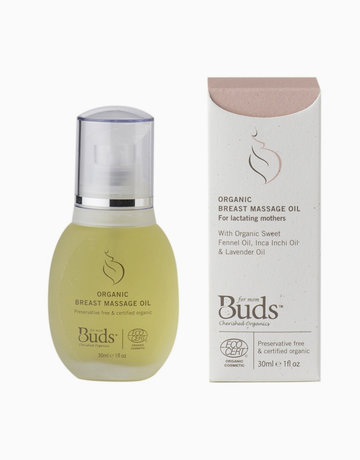 Breast Massage Oil by Buds Baby Organics