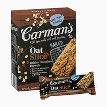 Belgian Chocolate Brownie Oat Slice by Carman's