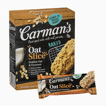 Golden Oat and Coconut Slice by Carman's