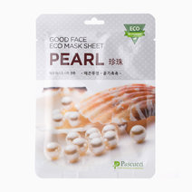 Pascucci good face eco mask sheet pearl