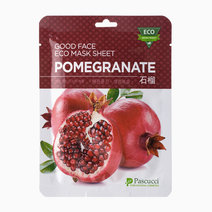 Pascucci good face eco mask sheet pomegranate
