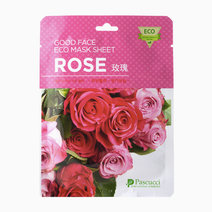 Rose Good Face Eco Mask Sheet by Pascucci