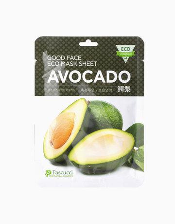 Avocado Good Face Eco Mask by Pascucci