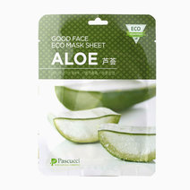Pascucci good face eco mask sheet aloe
