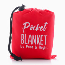 Beach/Picnic Pocket Blanket by Feet and Right