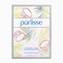 Purlisse coconut   rice nourishing sheet mask