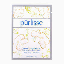 Purlisse green tea   ginger rejuvenating sheet mask