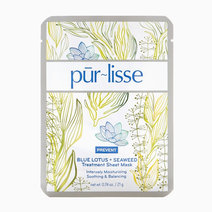 Purlisse)blue lotus   seaweed treatment sheet mask