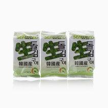 Seasoned Seaweed Laver  by Hana Foods