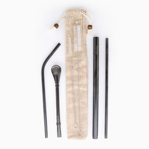 Premium Always & Forever Straw Set by Gubby and Hammy