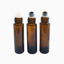 Gemstone Essential Oil Roller (Pack of 3) by Poppy's Crystals