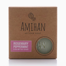 Rosemary and Peppermint Shampoo Bar Soap by Amihan Organics