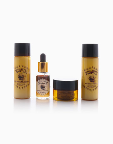 Royal Honey Propolis Enrich Set (4 Items) by Skinfood