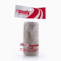 "Sports Bandage 4"" With Velcro Cream by Manly"