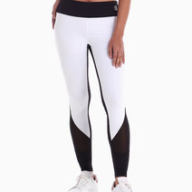 Cuore Legging in Black/White by Strength Activewear