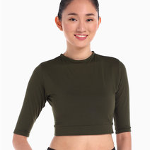 Wrap Around the World Top (Green) by Flux Movement