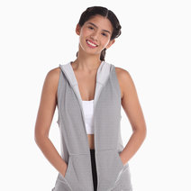 Striped Cover Up Vest by AVA Athletica