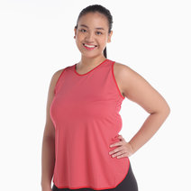 Crossback Red Top by AVA Athletica