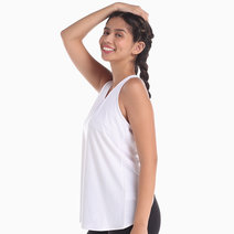 Crossback White Top by AVA Athletica